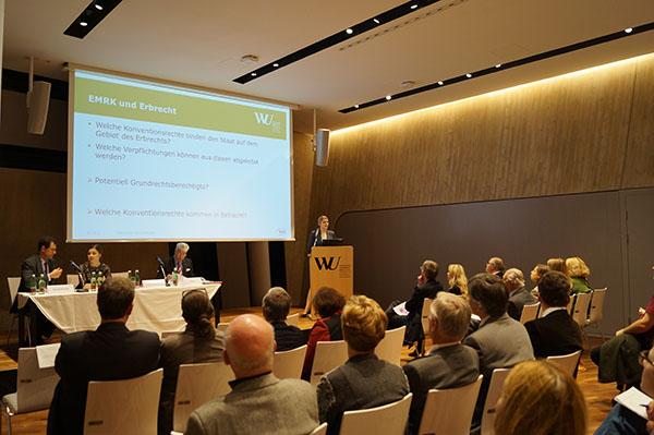 Vortrag Erb- und Familienrecht im Lichte der EMRK