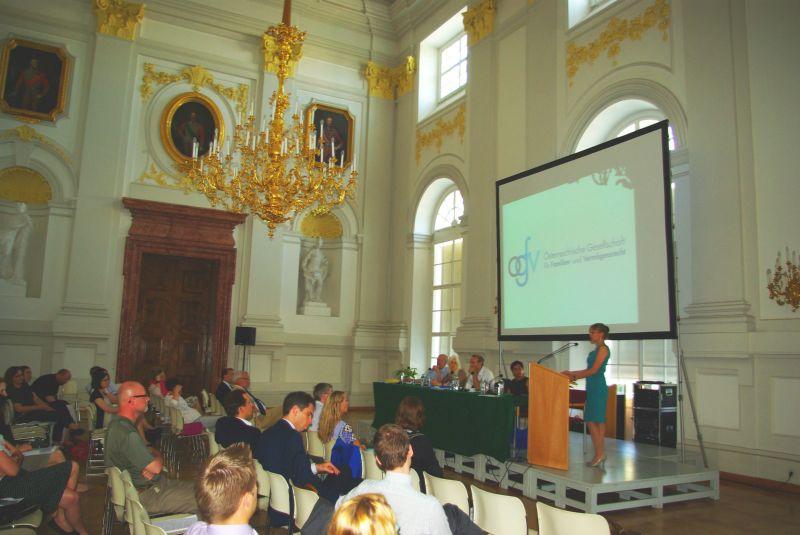 Symposium Migration, Familie und Vermögen