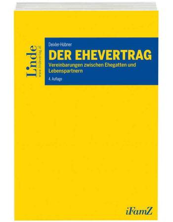 Deixler-Hübner, Der Ehevertrag (2018)